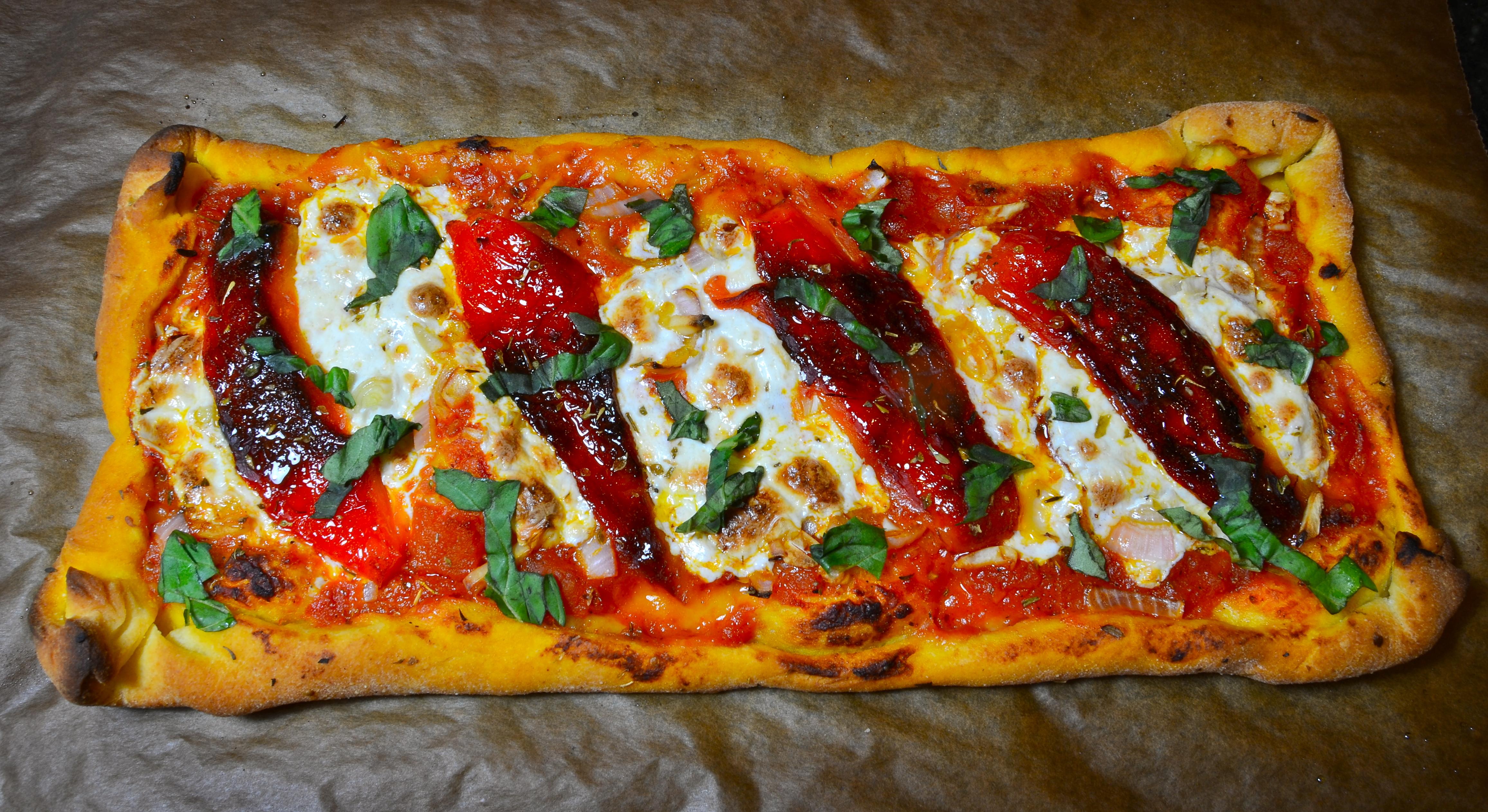 Homemade Semolina Pizza Dough - The Social Chef
