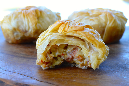 These 7 phyllo dough recipes show how to use phyllo dough to make dessert recipes, appetizer recipes, main dish recipes, and more. Use this flaky store-bought pastry dough to make desserts, appetizers, main dishes, and more.