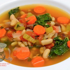 Bean and Kale Soup R
